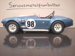 【送料無料】模型車 スポーツカー シェルビーコブラ#gmp g1202608 usrrc shelby 289 cobra 98 112