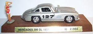 【送料無料】模型車 スポーツカー メルセデスラリーリヨンrare cec on base solido mercedes 300 sl 1958 rally lyon charbonnieres ref21900