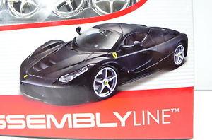 【送料無料】模型車 スポーツカー フェラーリlaferrariキットmattchwarz124 vonマイストferrari laferrari kit mattchwarz scale 124 von maisto