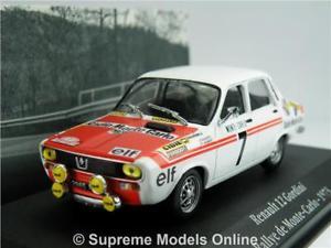 【送料無料】模型車 スポーツカー ルノーカーモデルネットワークアトラスラリーモンテカルロrenault 12 gordini car model 143 1973 ixo atlas la saga rally monte carlo t3
