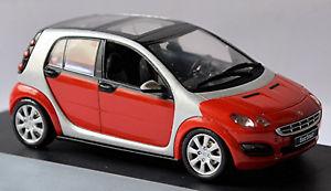 【送料無料】模型車 スポーツカー スマートフォーフォーリバーシルバーメタリックsmart forfour w 454 200406 phat red river silver metallic 143 schuco