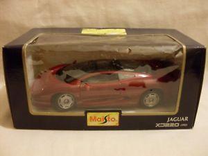 【送料無料】模型車 スポーツカー ジャガースケールmaisto special edition, jaguar xj220 1992124 scale boxed