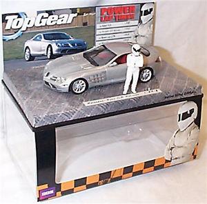 【送料無料】模型車 スポーツカー メルセデスベンツslrマクラーレンシルバートップギアパワーmercedesbenz slr mclaren silver top gear power laps in box ltd edition