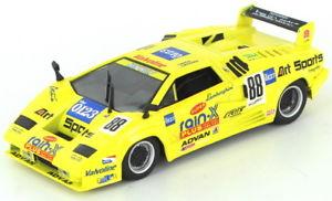 【送料無料】模型車 スポーツカー ランボルギーニコンペティツィオーネシリーズlamborghini countach xxv competizione 1994 jgt series 143