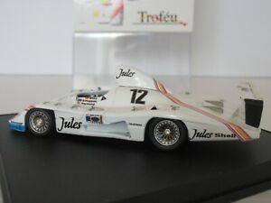 【送料無料】模型車 スポーツカー trofeu1206porsche 93612le mans 1981143schuppanヘイウッドtrofeu, 1206, porsche 936 12, le mans 1981, 143 scale, mass schuppan ha