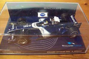 【送料無料】模型車 スポーツカー ウィリアムズニコロズベルグ143 williams 2006 nico rosberg 2006 showcar