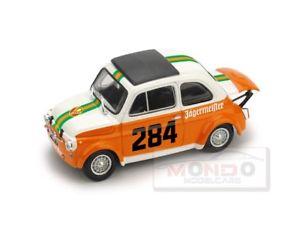 【送料無料】模型車 スポーツカー フィアットアバルトコッレデッラマッダレーナモデルfiat 695 ss abarth n284 colle della maddalena 1973 143 brumm r496 model