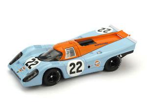 【送料無料】模型車 スポーツカー ポルシェルマンホッブズ#モデルporsche 917k 24h le mans 1970 m hailwood d hobbs 22 brumm 143 r495upd model