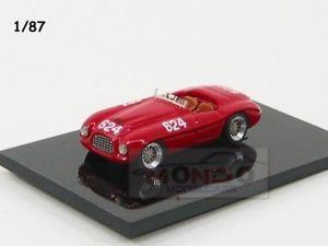 【送料無料】模型車 スポーツカー フェラーリクモ#ミッレミリアジョリーモデルferrari 166mm spider 624 winner mille miglia 1949 jolly model 187 jln87004 mo