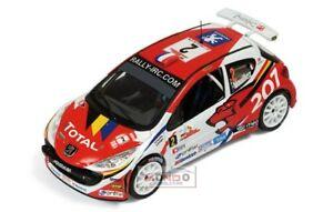 【送料無料】模型車 スポーツカー プジョー2072 ircマデイラ2008143 ixo ram348モデルpeugeot 207 2 irc madeira 2008 143 ixo ram348 model