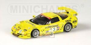 【送料無料】模型車 スポーツカー 143 433031403モデルシボレーコルベットc5r gtsセブリング2003chevrolet corvette c5r gts sebring 2003 neutral box 143 433031403 model
