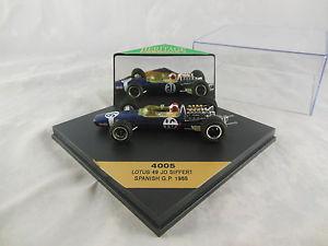 【送料無料】模型車 スポーツカー f1quartzo 4005ロータス49ジョウsiffertスペインgp 1968143heritage formula 1 quartzo 4005 lotus 49 jo siffert spanish gp 1968 scale 143