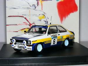 【送料無料】模型車 スポーツカー フォードエスコートロンバードラリー#trofeu 1012 ford escort mkii rs1800 1979 lombard rac rally 6 143