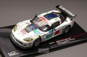 【送料無料】模型車 スポーツカー コルベット#ルマンネットワークモデルcorvette c60r 73 le mans 2009 143 ixo lmm179 model