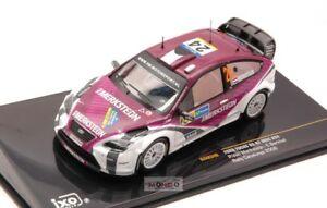 【送料無料】模型車 スポーツカー フォードフォーカスrs 07 wrc24 catalunya2008143 ixo ram340モデルford focus rs 07 wrc 24 catalunya 2008 143 ixo ram340 model