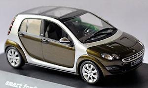 【送料無料】模型車 スポーツカー スマートフォーフォーディープグリーングリーンメタリックsmart forfour w 454 200406 deep green green metallic 143 schuco