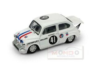 【送料無料】模型車 スポーツカー フィアットabarth 1000ザントフォルト1969 lachオランダbrummr420 143モデルダイカストfiat abarth 1000 zandvoort 1969 lach holland brumm r420 143 model