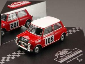 【送料無料】模型車 スポーツカー モーリスミニクーパー#ラリーモンテカルロmorris mini cooper 105 7th rally montecarlo 1964 aaltonen vitesse 143 ve43331