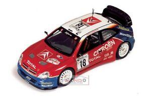 【送料無料】模型車 スポーツカー シトロエンクサララリーラムモデルcitroen xsara wrc deutschland rally 2003 143 ram120 model
