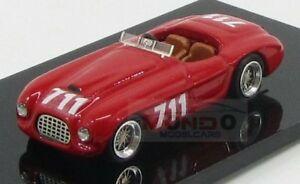 【送料無料】模型車 スポーツカー フェラーリ166mmクモ711ミルミグリア1950braccoモデル187 jln87032 moferrari 166mm spider 711 mille miglia 1950 bracco jolly model 187 jln8703