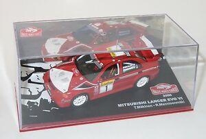 【送料無料】模型車 スポーツカー 143ランサーevo viモンテカルロ2000tommiメキネン143 mitsubishi lancer evo vi rally monte carlo 2000 tommi makinen