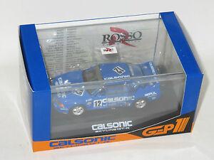 【送料無料】模型車 スポーツカー ロッソスカイライン143 rosso  nissan skyline gtr r32 calsonic