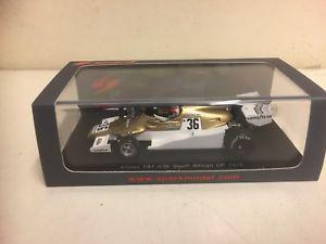 【送料無料】模型車 スポーツカー スパークロルフスケールモデルspark  f1 1978 arrows fa1 rolf stommelen 143 scale model  s3901