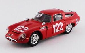 【送料無料】模型車 スポーツカー アルファロメオ#タルガフローリオピッコロベストモデルalfa romeo tz1 122 targa florio 1966 lo piccolo best 143 be9649 model