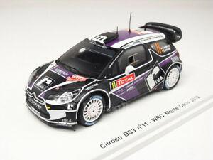 【送料無料】模型車 スポーツカー シトロエン#ラリーモンテカルロヴァンスパークモードcitroen ds3 wrc 11 rally montecarlo 2012 pvan merksteijn spark 143 s3329 mode