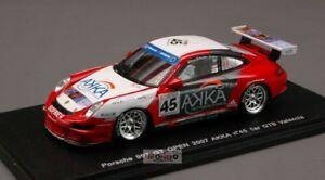 【送料無料】模型車 スポーツカー ポルシェ#バレンシアスパークporsche 997 gt 45 valencia 2007 143 spark mx007