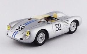 【送料無料】模型車 スポーツカー ポルシェスパイダー#ルマンシラーシルバーベストメートルporsche 550rs spider 59 24h le mans 1958 schiller tot silver best 143 be9652 m