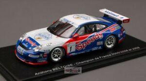 【送料無料】模型車 スポーツカー ポルシェグアテマラ#カップスパークporsche 997 gt 3 1 carcup 2009 143 spark mx015