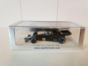 【送料無料】模型車 スポーツカー ロニーピーターソンスケールモデル listingspark  f1 1974 lotus 76 ronnie peterson 143 scale model s1769