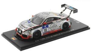 【送料無料】模型車 スポーツカー アウディチームモータースポーツ#ニュルブルクリンクスパークシングルモデルaudi tt rs team wheels motorsport 111 nurburgring 2012 spark 143 sg065 model