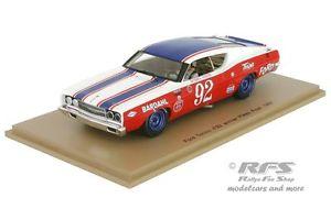 【送料無料】模型車 スポーツカー フォードパイクスピークスパークford torinobobby unserhill climb pikes peak 1969 143 spark 43pp69