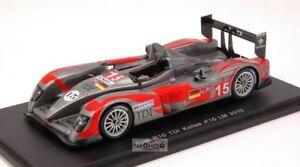 【送料無料】模型車 スポーツカー アウディr1015ルマン2010 143スパークsp2565audi r10 15 le mans 2010 143 spark sp2565