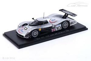 【送料無料】模型車 スポーツカー アウディルマンマッカーシーウォレスaudi r8c 24h le mans 1999mccarthywallaceweaverspark 143 s1809