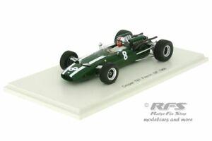 【送料無料】模型車 スポーツカー クーパーフランススパークcooper t81 maseratichris amonformula 1 gp france 1966 143 spark 5290