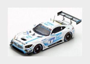 【送料無料】模型車 スポーツカー メルセデスgt3ブラックハヤブサ2017christodoulouスパーク143 sg314nurburgring
