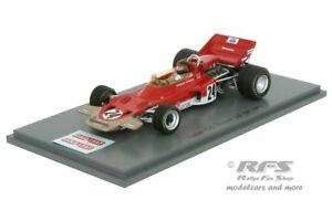 【送料無料】模型車 スポーツカー ロータスフォードエマーソンフィッティパルディフォーミュラグランプリアメリカスパークlotus 72c fordemerson fittipaldi formula 1 gp usa 1970 143 spark 5345