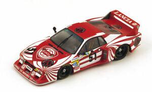 【送料無料】模型車 スポーツカー ランチアベータモンテカルロリタイアハイヤースパークlancia beta monte carlo n51 dnf lm 1980 darnicheheyerfabi 143 spark s1389 mo