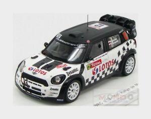 【送料無料】模型車 スポーツカー ミニ#モンテカルロラリーコジオスコスパークmini jcw wrc 12 10me monte carlo rally 2013 m kosciuszko spark 143 s3362 mod