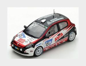 【送料無料】模型車 スポーツカー ルノークリオカップモータースポーツ#ニュルブルクリンクスパークシングルモデルrenault clio rs cup avia motorsport 131 nurburgring 2017 spark 143 sg332 model