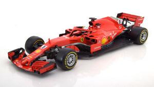 【送料無料】模型車 スポーツカー フェラーリベッテル118 bburago ferrari sf71h vettel 2018