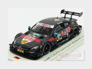 【送料無料】模型車 スポーツカー メルセデスcクラスc63 amgチーム3 lausitzモダン2017rウィッキンススパーク143 sg352