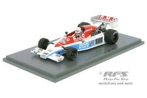 【送料無料】模型車 スポーツカー マティーニフランススパークmartini mk23 fordrene arnouxformula 1 gp france 1978 143 spark 4838