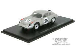 【送料無料】模型車 スポーツカー ポルシェアバルトルマンスパークporsche 356b gtl abarth 24h le mans 1961lingepon 143 spark 4682