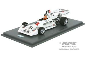 【送料無料】模型車 スポーツカー コスワースヴァンフォーミュラオランダスパークensign n174 cosworth van lennep formula 1 dutch gp 1975 143 spark 5301