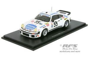 【送料無料】模型車 スポーツカー ポルシェルマンスパークporsche 934 24h le mans 1977fernandez baturone tarradas 143 spark 5090
