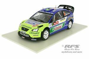 【送料無料】模型車 スポーツカー フォードフォーカスラリーウェールズford focus rs wrc 07 rally wales 2007hirvonen 118 altaya